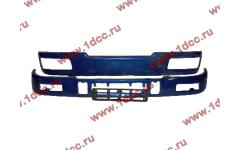 Бампер C синий верхний+нижний (в сборе) фото Череповец